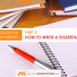 How to create a dissertation title?