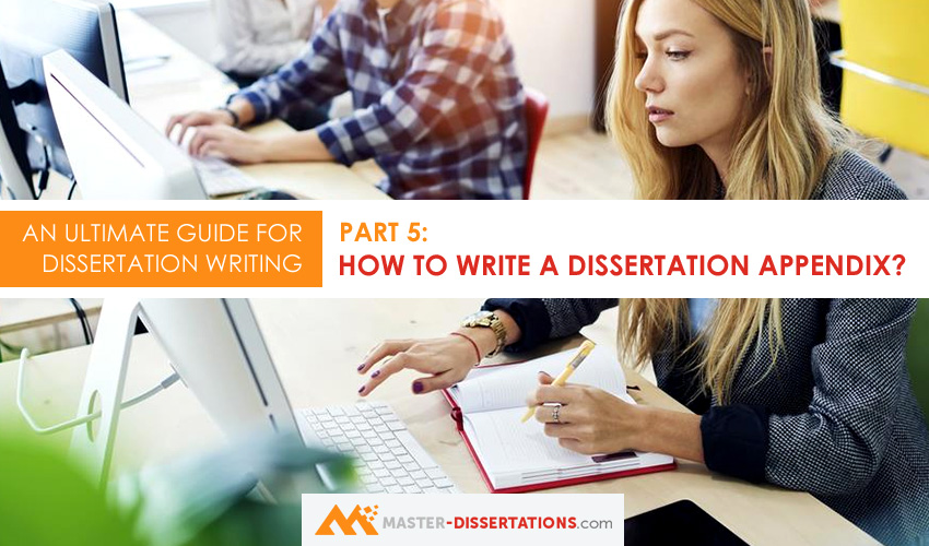 dissertation appendix writing assistance