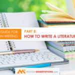 How to write literature review for dissertation