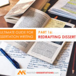Redrafting and Polishing Dissertation