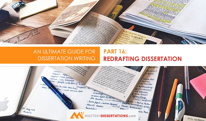 how to redraft dissertation